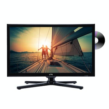 "LED-TV LTC 22"" med DVD"