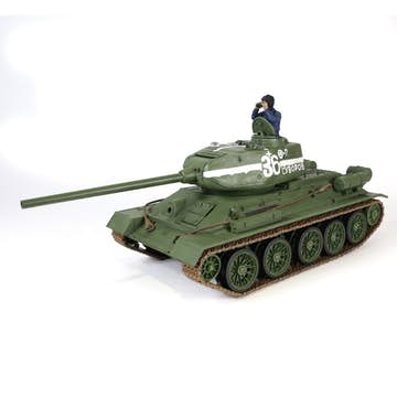 Radiostyrd Stridsvagn Forces of Valor 1:24 RC Scale Soviet T-34/85
