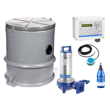 Pumpstation Flygt Compit Mini Bas 3-fas